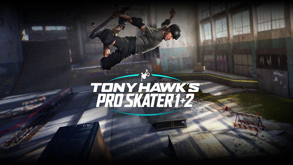 Tony Hawk's Pro Skater 1+2 ya está disponible