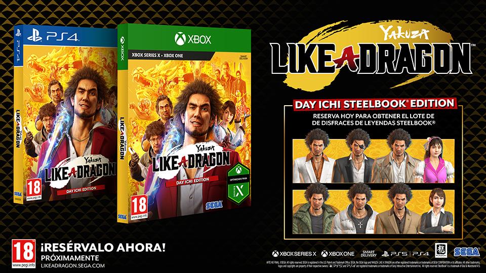 Yakuza Like a Dragon para PS5 – Confirmada fecha de lanzamiento