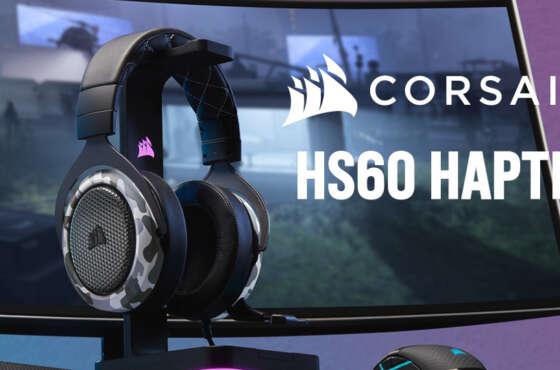 Auriculares Corsair HS60 HAPTIC