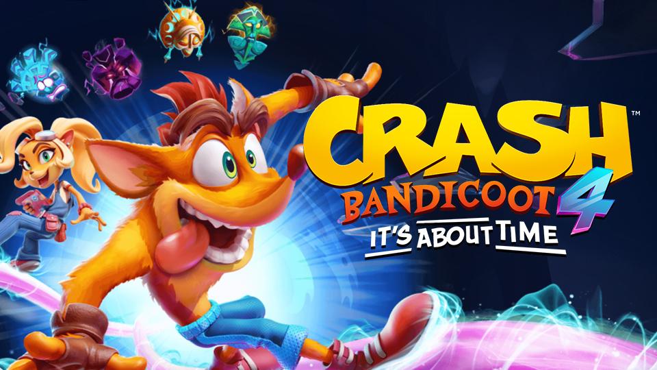 Crash Bandicoot 4: It's about time, ya está disponible