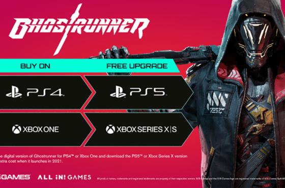 Ghostrunner actualización a PS5 y Xbox Series X