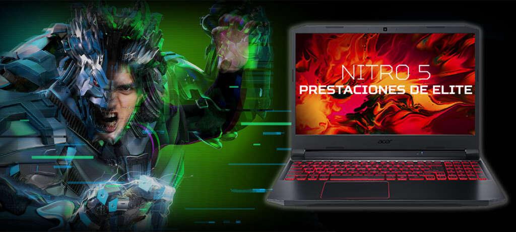 Portátil Gaming Nitro 5
