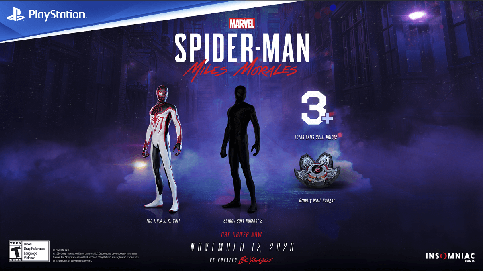 Marvel's Spider-Man: Miles Morales ya está disponible para reserva