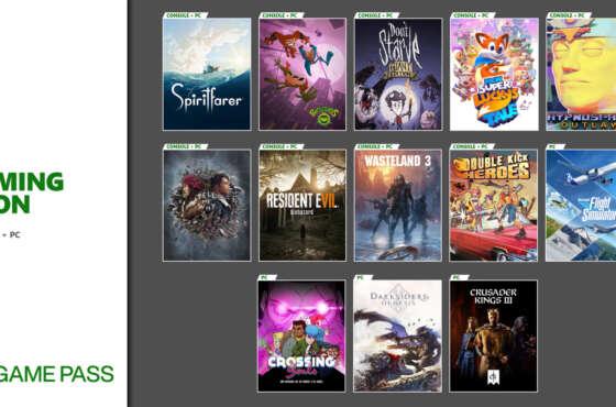 Xbox Game Pass. Novedades.