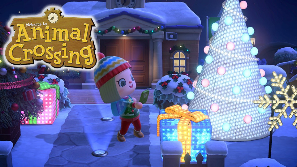 ¡Celebra las fiestas con Animal Crossing: New Horizons!