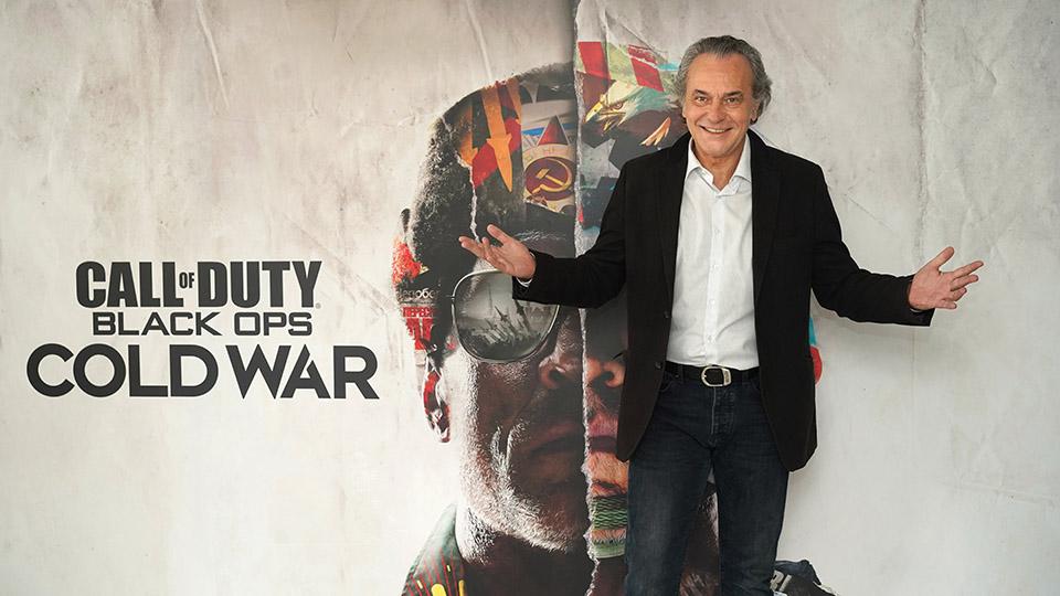 José Coronado, la voz de un personaje de Call of Duty: Black Ops Cold War