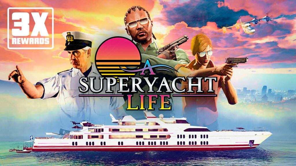 GTA Online - A Superyacht Life