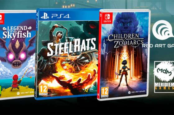 Legend of Skyfish, Steel Rats y Children of Zodiarcs