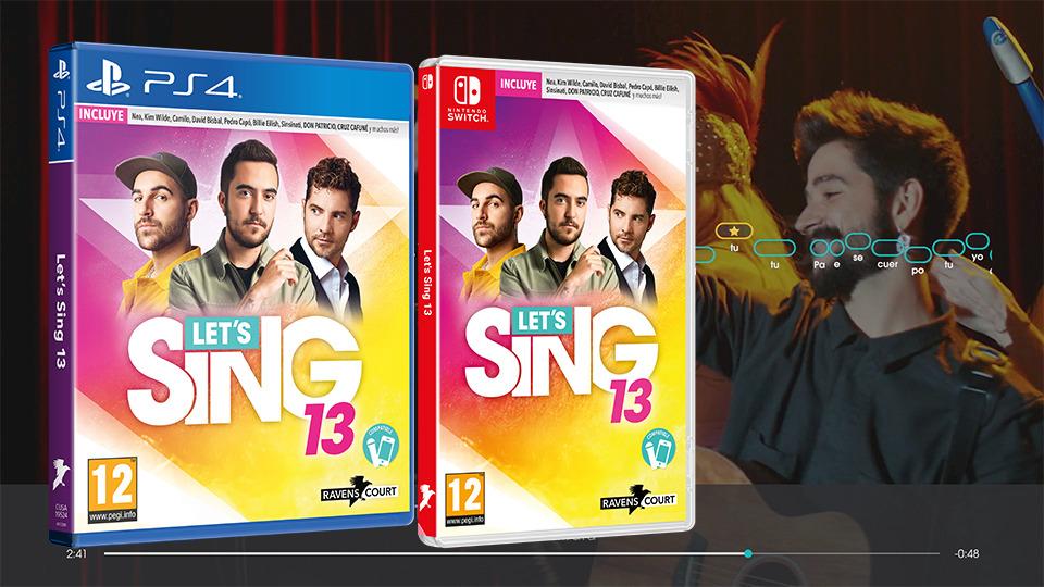 Let's Sing 13, ya está a la venta