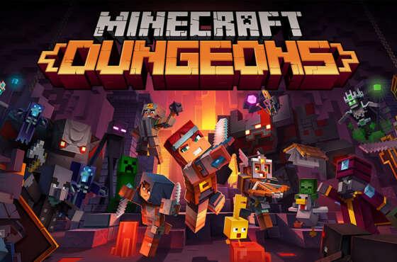 El juego cruzado llega a Minecraft Dungeons