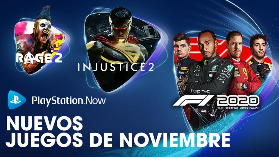 PlayStation Now. Novedades para Noviembre.