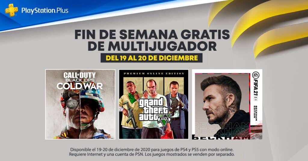 PlayStation Plus diciembre