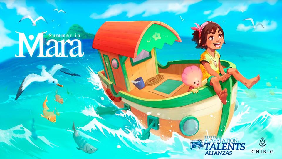 Summer in Mara llegará a PS4 el próximo 9 de diciembre