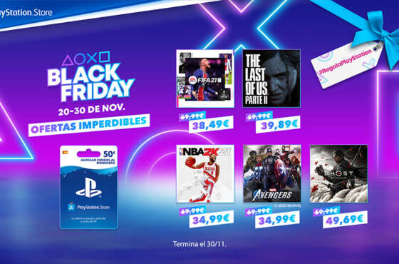 PlayStation recibe Black Friday
