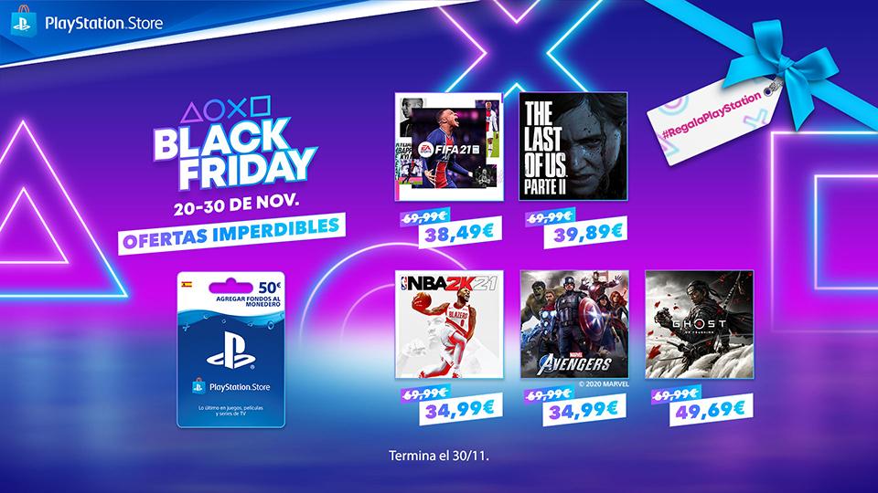 PlayStation recibe Black Friday