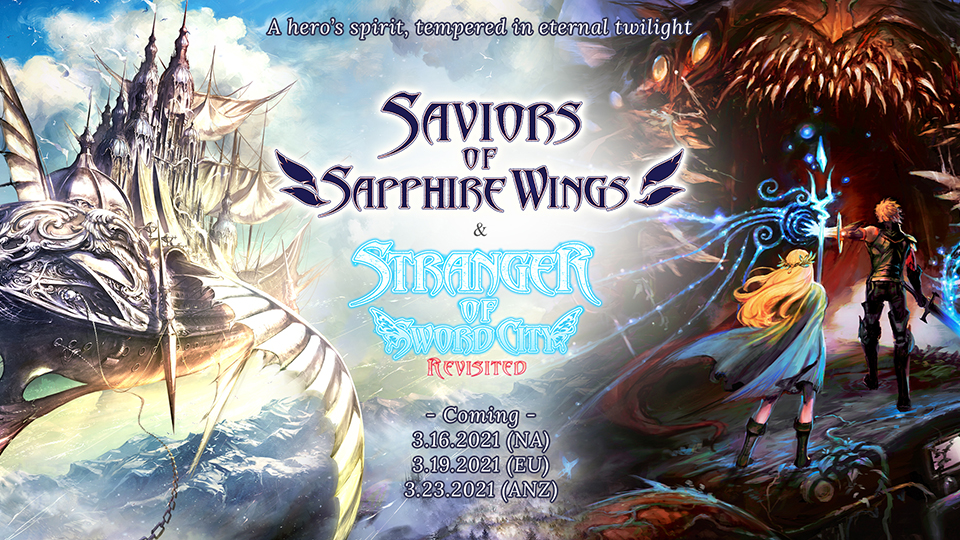 Saviors of Sapphire Wings y Stranger of Sword City Revisited