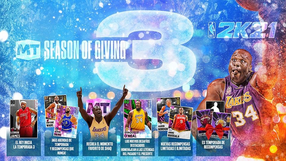 NBA 2K21. Llega la Temporada 3 de Mi EQUIPO