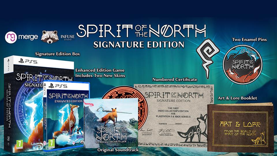Spirit of the North: Enhanced Edition nos guía hasta PlayStation 5