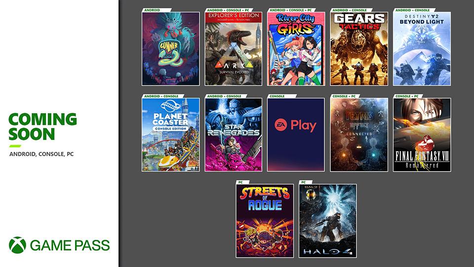 Próximamente en Xbox Game Pass Ultimate