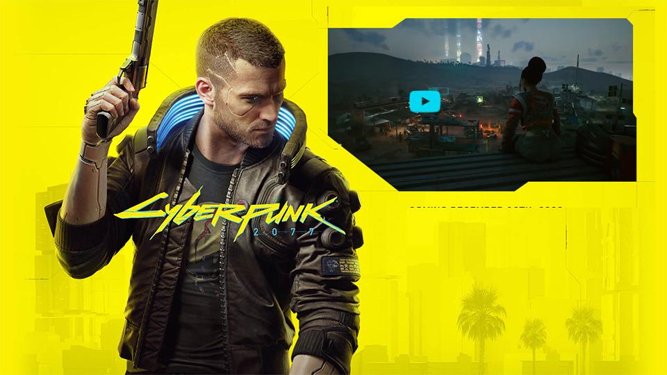 Nuevo tráiler de juego de Cyberpunk 2077
