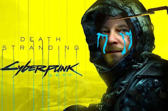 Death Stranding y Cyberpunk 2077 cross over para PC