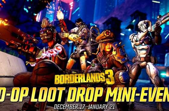 Borderlands 3. Ya disponible el minievento «Saquea en Compañía»