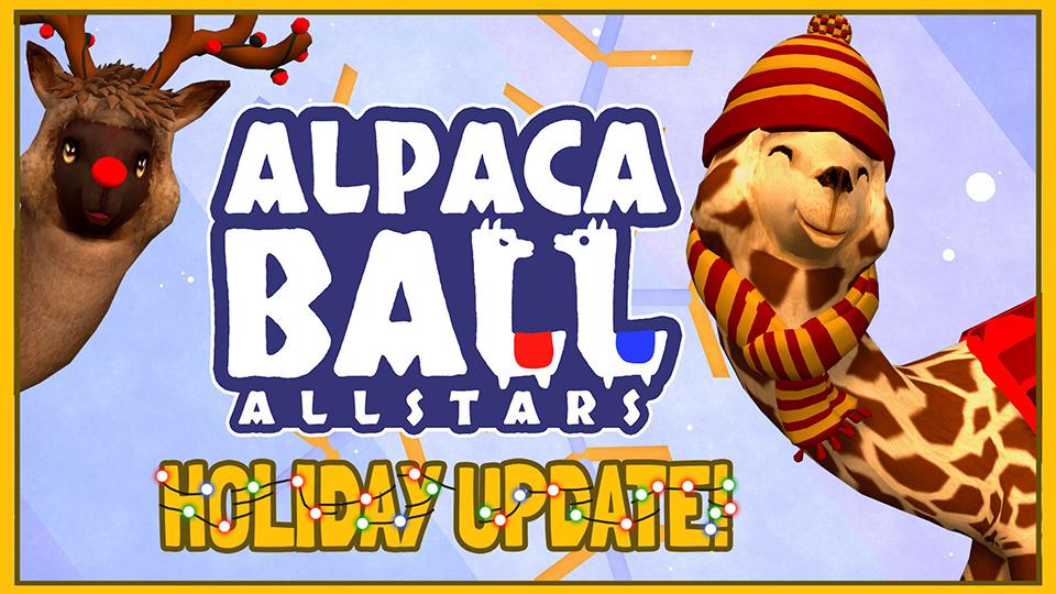 Alpaca Ball Allstars se actualiza con la llegada de la Navidad