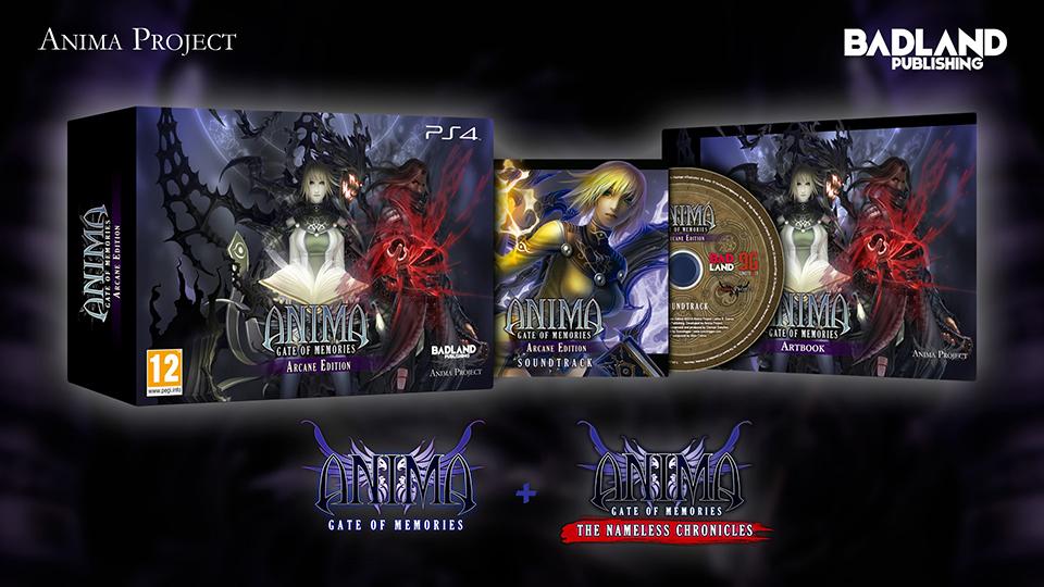 Anima Arcane Edition llega a PS4