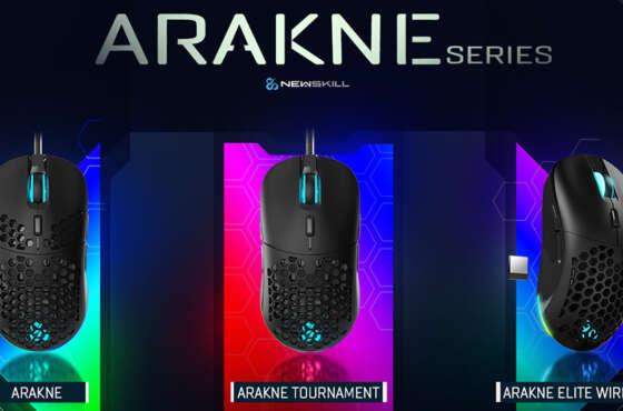 Newskill presenta sus nuevos ratones RGB: Arakne Series