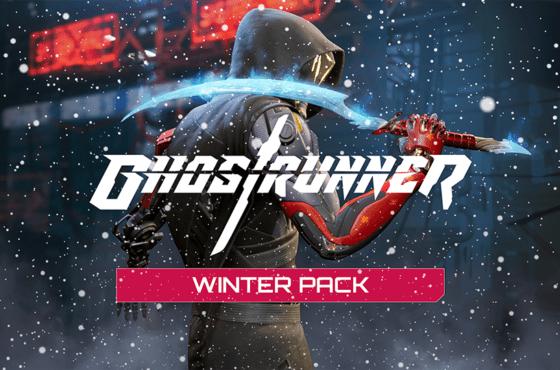 Ghostrunner debuta con un dlc Cosmetic Winter y el modo Hardcore
