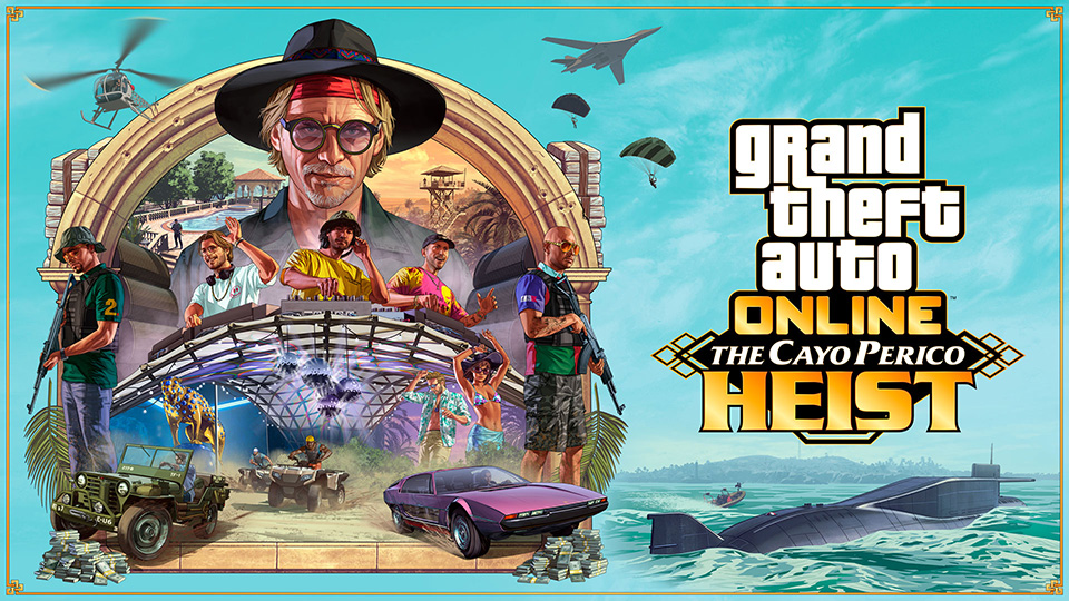 GTA Online. Nuevo tráiler de Golpe a Cayo Perico