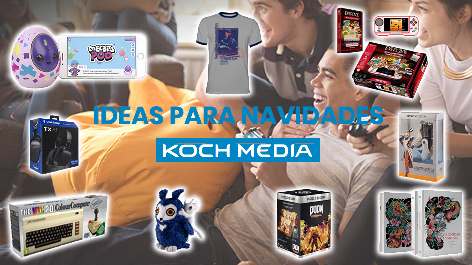 Prepárate para vivir unas navidades diferentes con Koch Media