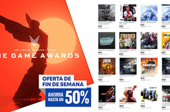 Las ofertas de fin de semana de The Game Awards llegan a PlayStation Store