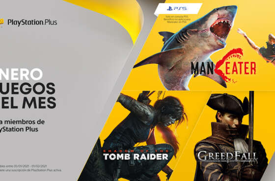 PlayStation Plus en enero
