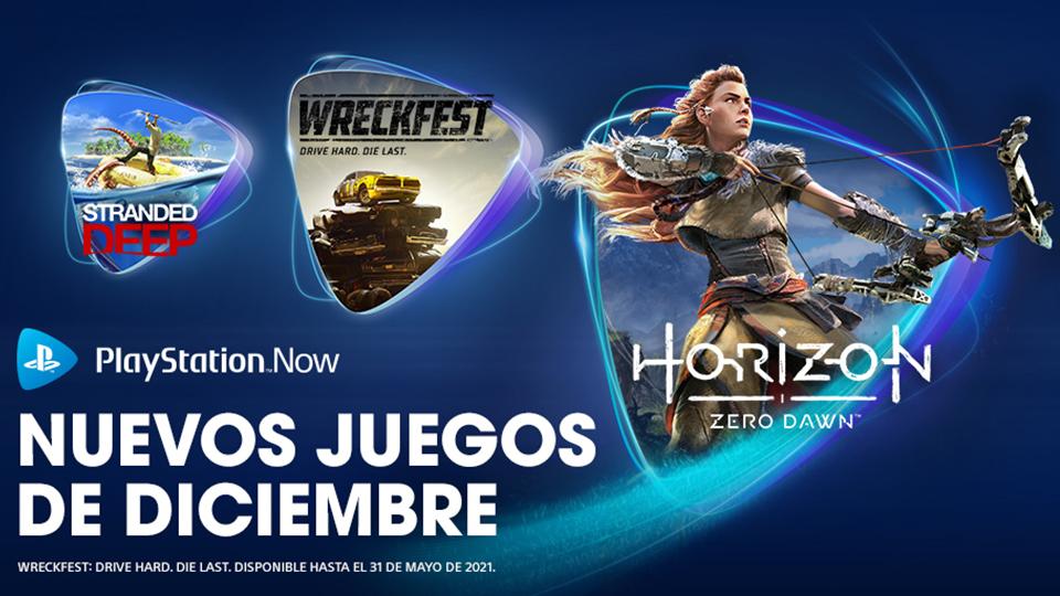PlayStation Now en Diciembre