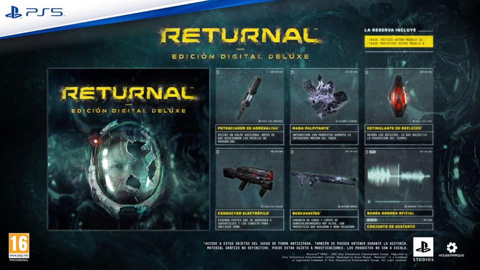 Returnal llegará en exclusiva para PS5 el próximo 19 de marzo