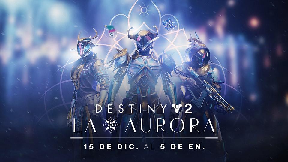 Llega la Aurora a Destiny 2