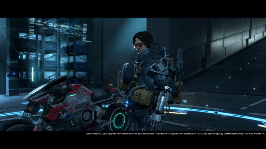 Death Stranding y Cyberpunk 2077