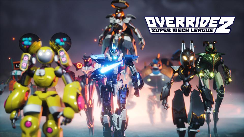 Override 2: Super Mech League ya está disponible