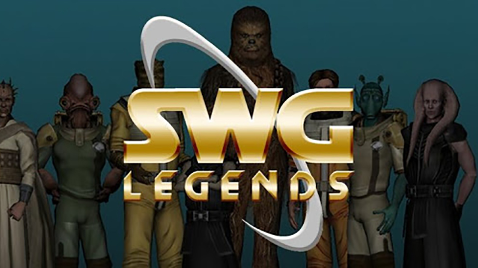 Star Wars Galaxies Legends. Tributo a Carrie Fisher