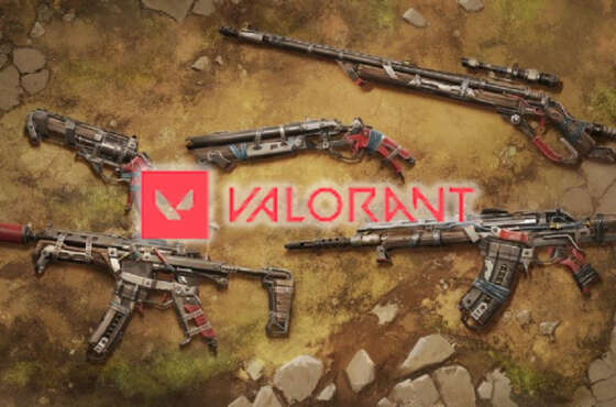 La piel de vandalismo de Valorant Wasteland