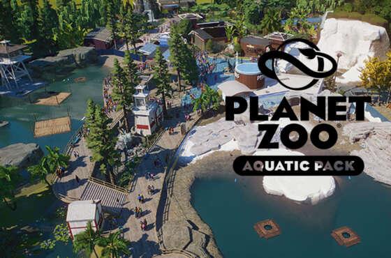 Planet Zoo nos salpica con su nuevo DLC: Aquatic Pack