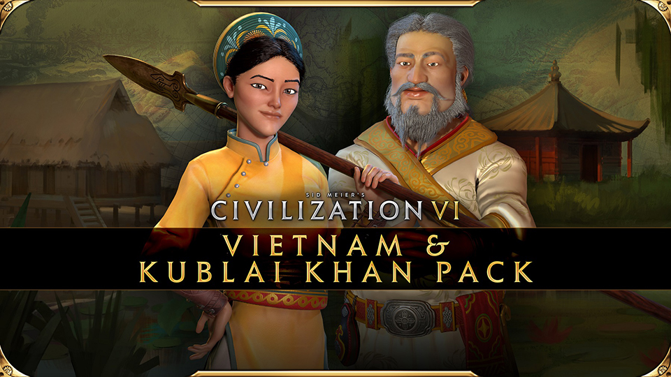 Sid Meier's Civilization VI. Pack de Vietnam y Kublai Kan