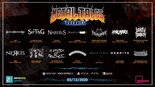 Metal Tales: Overkill llega a Indiegogo