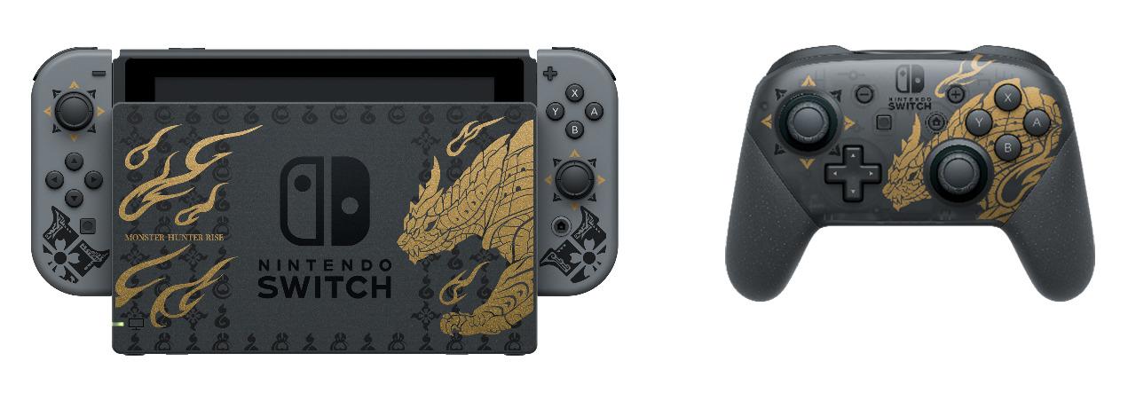 Nintendo Switch edición MONSTER HUNTER RISE
