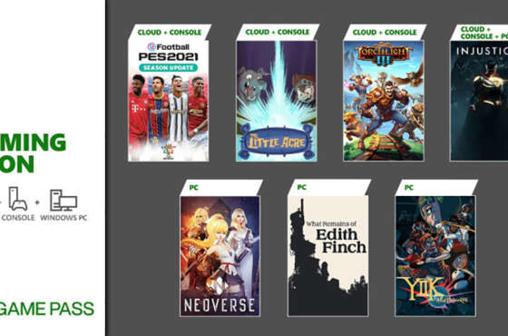 Próximamente en Xbox Game Pass