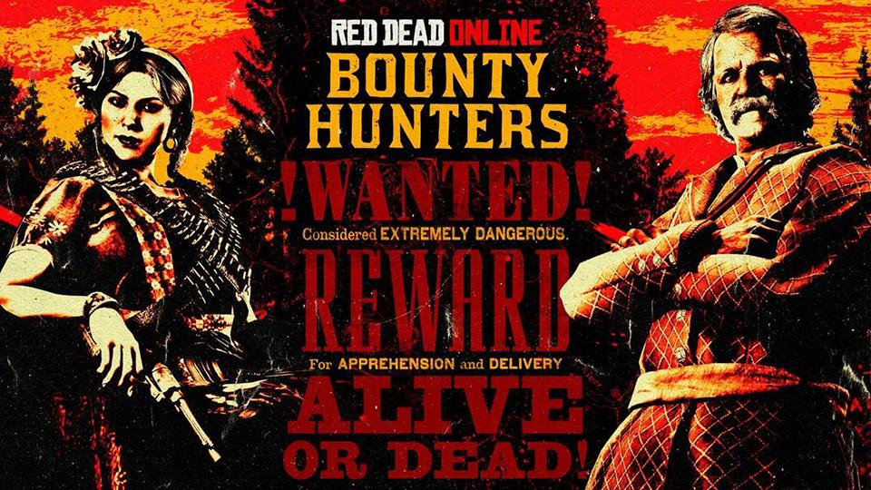 Semana de los Cazarrecompensas en Red Dead Online