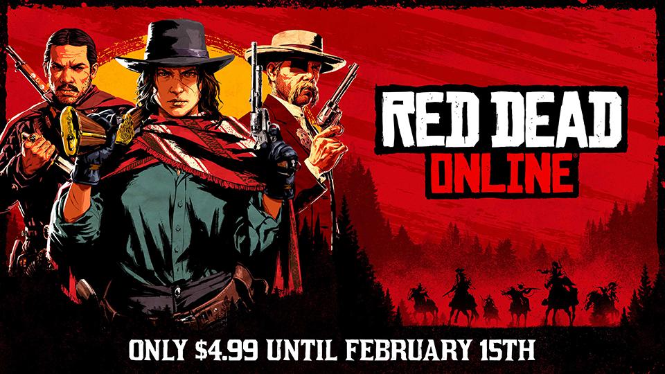 Red Dead Online celebra su versión independiente