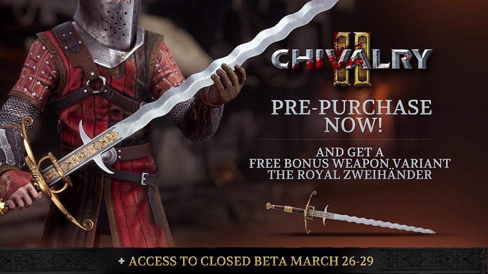 Chivalry 2 se lanzará el 8 de junio de 2021