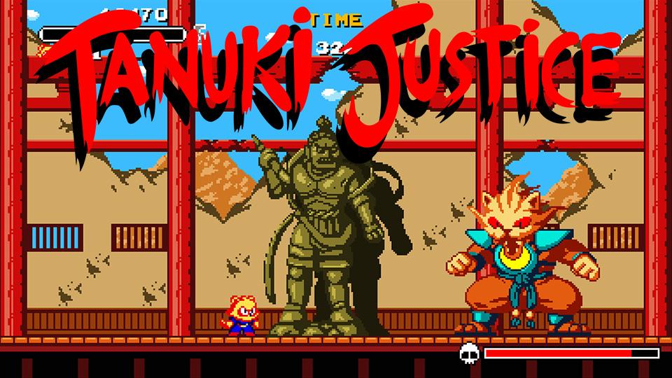 Tanuki Justice llegará muy pronto a Nintendo Switch y PlayStation 4